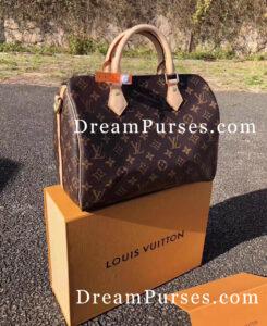 Louis Vuitton SPEEDY BANDOULIÈRE 30 fake
