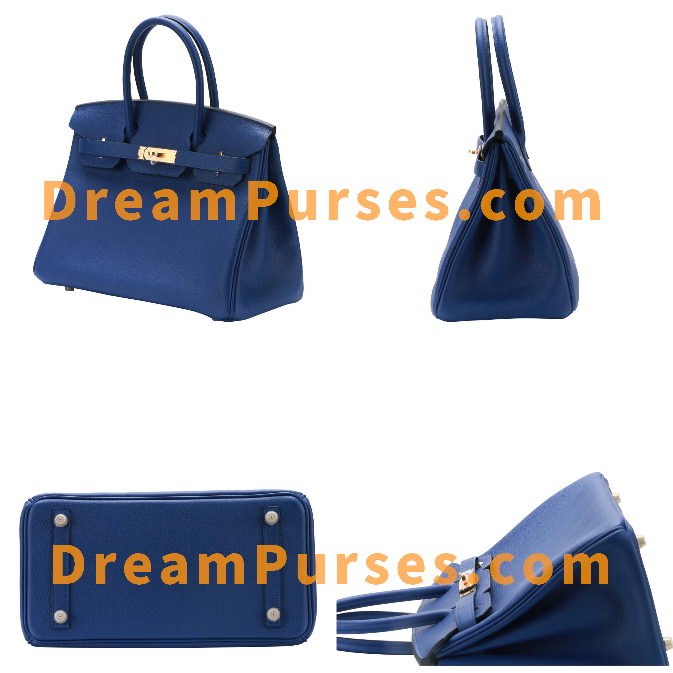The Super Fake Birkin has perfect shape as the real Hermes Birkin bag