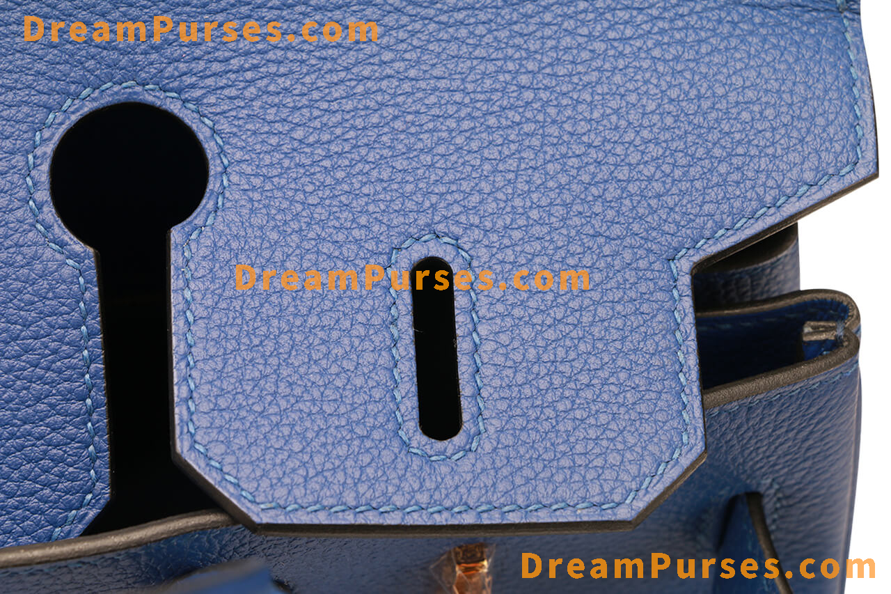 perfect stitches on the best replica Hermes Birkin bag 2