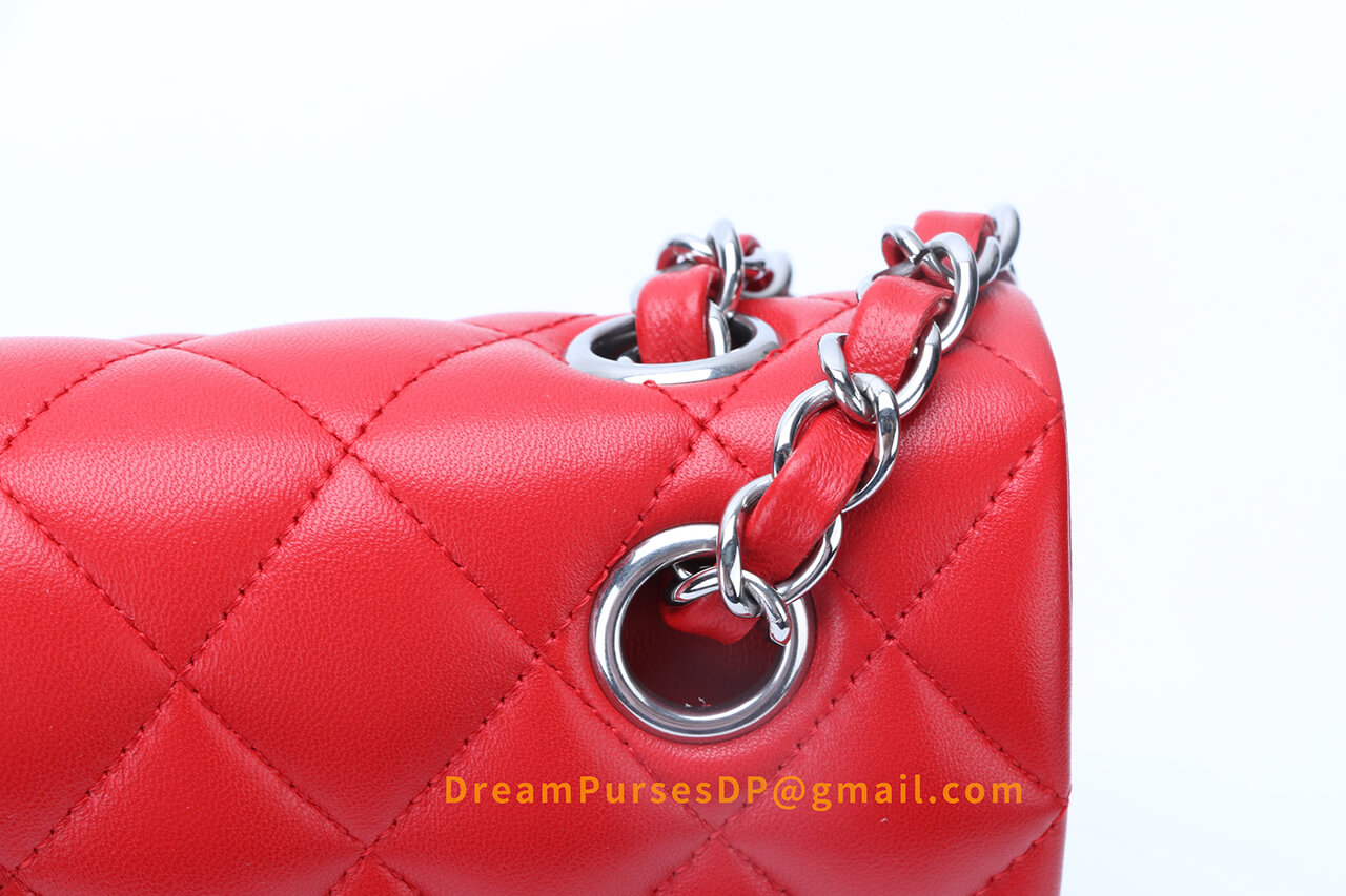 best replica Chanel bag with perfect chain