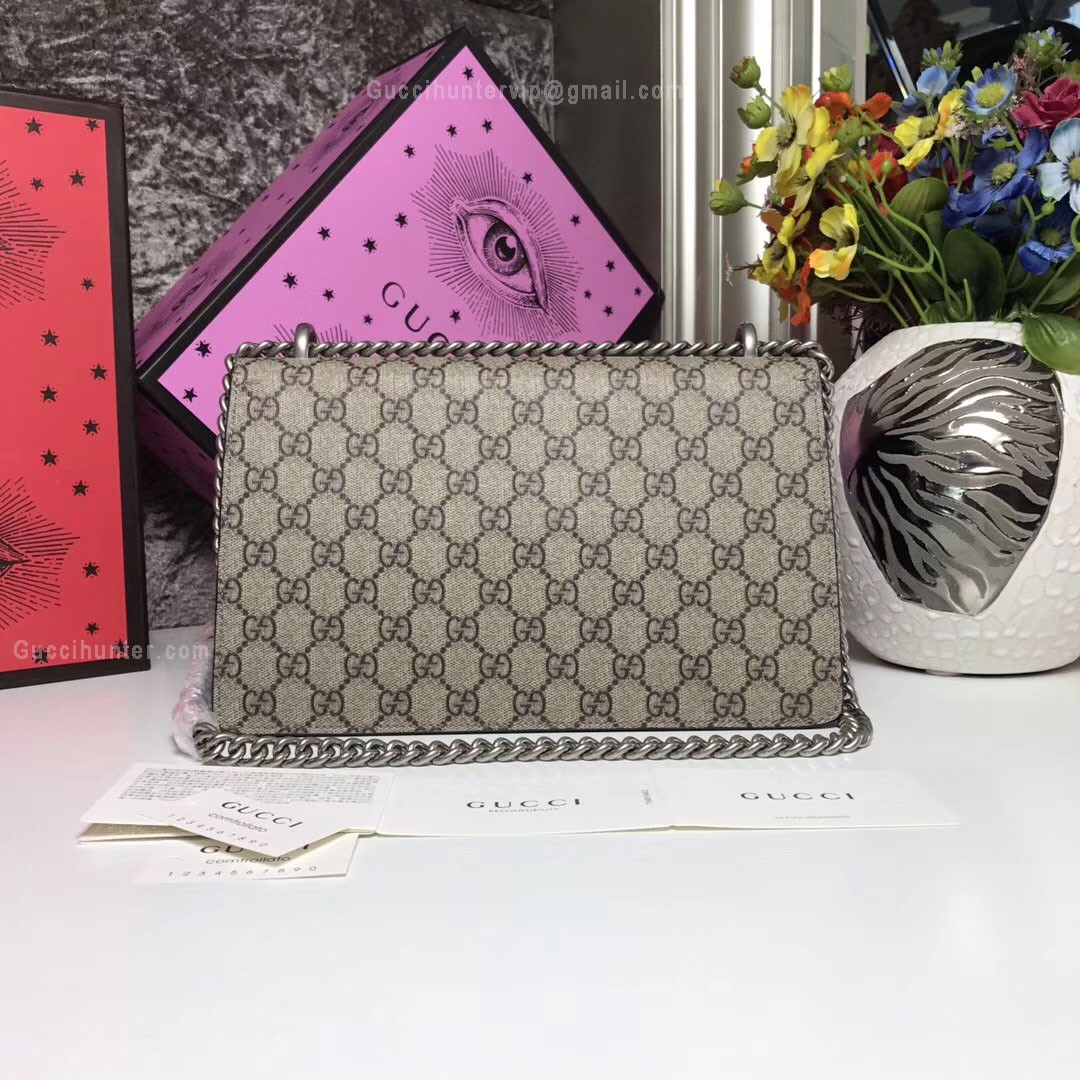 Gucci Dionysus replica Small GG Blooms Shoulder Bag back view