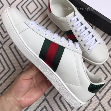 Gucci Ace Replica Embroidered Sneakers White customer picture