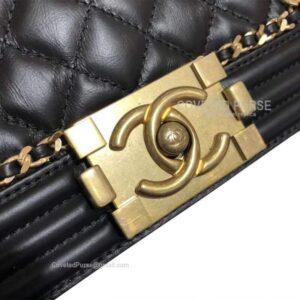 Chanel boy bag replica perfect logo