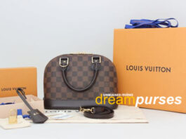 Louis Vuitton Alma replica review