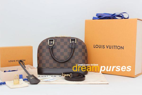 Louis Vuitton Alma replica review